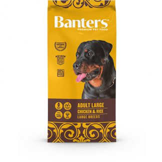 Banters Adult Largue - Chicken & Rice