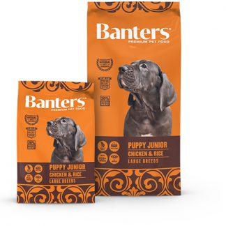 Banters Puppy Junior - Chicken & Rice Largue Breeds