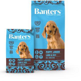 Banters Puppy Junior - Lamb & Rice