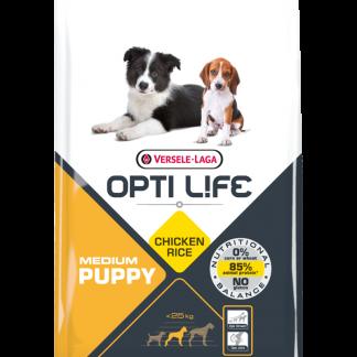 Versele-Laga Opti Life Medium Puppy Pollo y Arroz