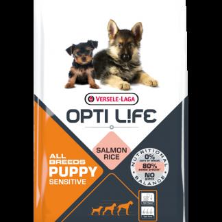 Versele-Laga Opti Life Puppy Sensitive All Breeds Salmón y Arroz