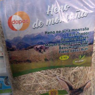 Heno de montaña 1kg Dapac