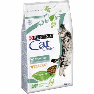 Cat Chow Esterilizado rico en Pollo 1.5Kg