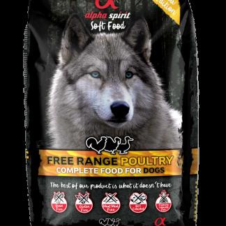Alpha Spirit - Alimento seco para perros Poultry 3kg poultry semi