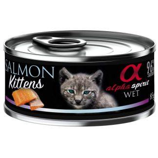 Alpha Spirit - Alimento humedo para gatitos cachorros – Salmon Kitten